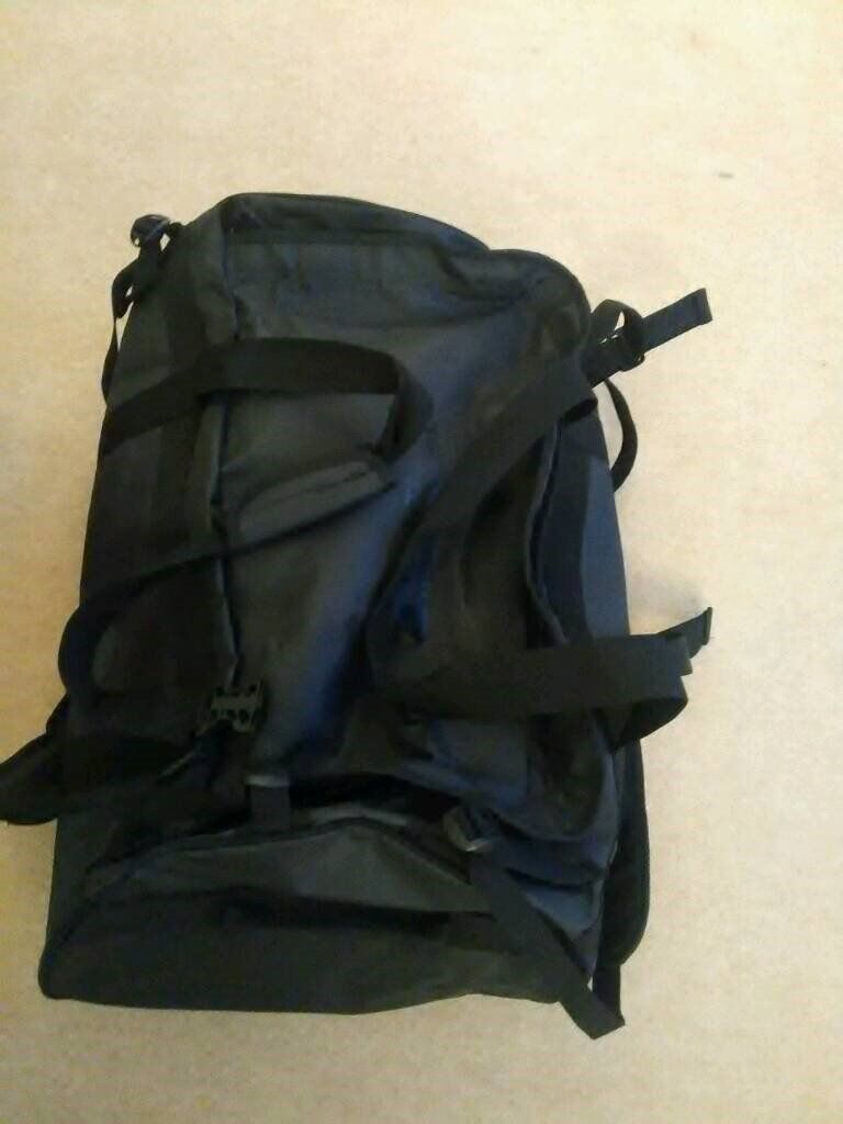 Mountain Warehouse Black 90 litres cargo bag