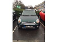 Mini One Green Hatchback Pepperpack 3dr 1.4l Petrol Manual FSH 2owners HPI checked