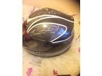 nitro crash helmet size medium