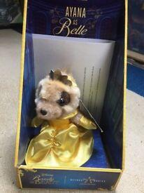 Ayana as Belle meerkat collectible