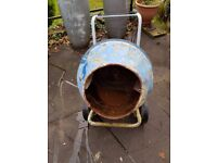 Used 240v Electric Cement Concrete Mixer