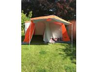 Family canvas tent