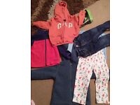 2 boxes of 9-12 & 12-18mths clothes boy