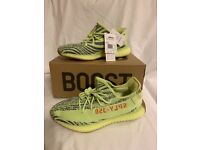 02840f70bb9 Genuine Adidas Yeezy 350 v2 semi frozen yellow Uk 6.5 brand new with tags