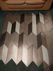 Gorgeous brand new sparkly high quality amtico vinyl floor tiles