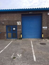 1356 Sq Ft Industrial Unit / Workshop / Workspace / Unit / Trade Counter