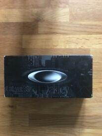 Brand new Oakley wiretap matte black sunglasses