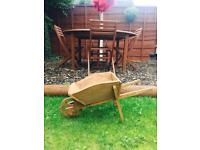 Garden Planter Wheel Barrow