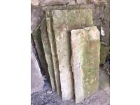 Reclaimed York Stone Flags - £40 Square Yard