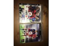 Two fifa 10/16 game PS3
