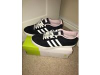 Women's Adidas trainers size 5
