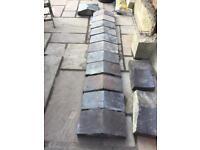 Victorian Staffordshire blue coping stones