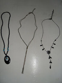 Necklaces (4) & bracelet