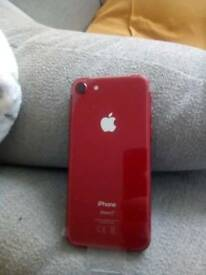 New iPhone 8 red 64gb