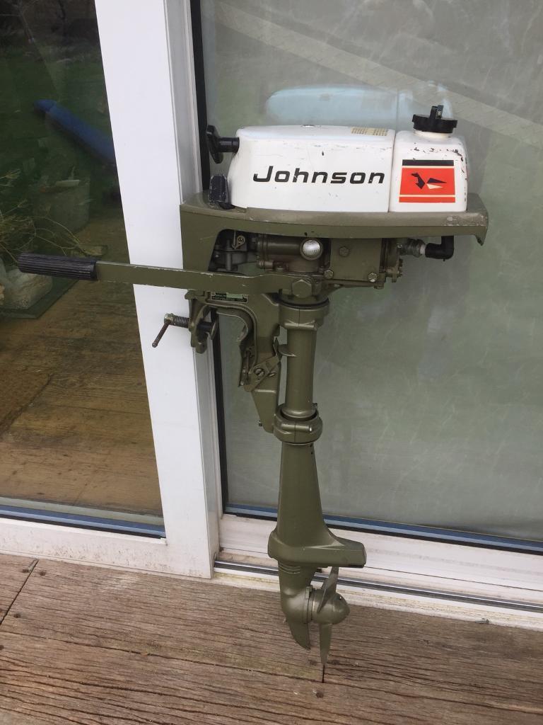 Vintage Johnson 2hp outboard motor | in Totnes, Devon | Gumtree