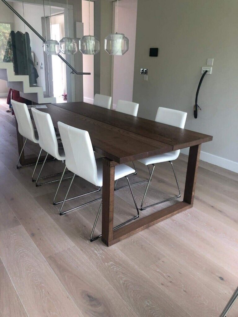 6 x dining chairs IKEA VOLFGANG Chairs, chrome plated, Kimstad white | in Kilburn, London | Gumtree