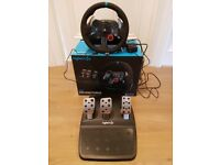 Logitech G29 racing wheel for PS3/PS4/PC