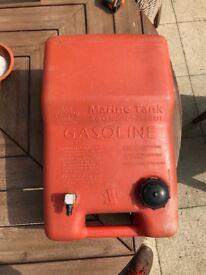 25 litre plastic fuel tank