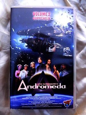 Andromeda Vol 2 Doppelhelix / Große Schlacht - Gene Roddenberry Video VHS xx