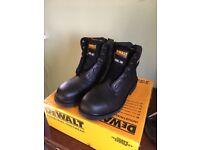 DeWalt mens work boots, Steel toe, size 7