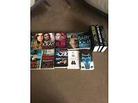 BOOK Bundle 13 books including martina cole
