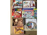 Bundle of board games
