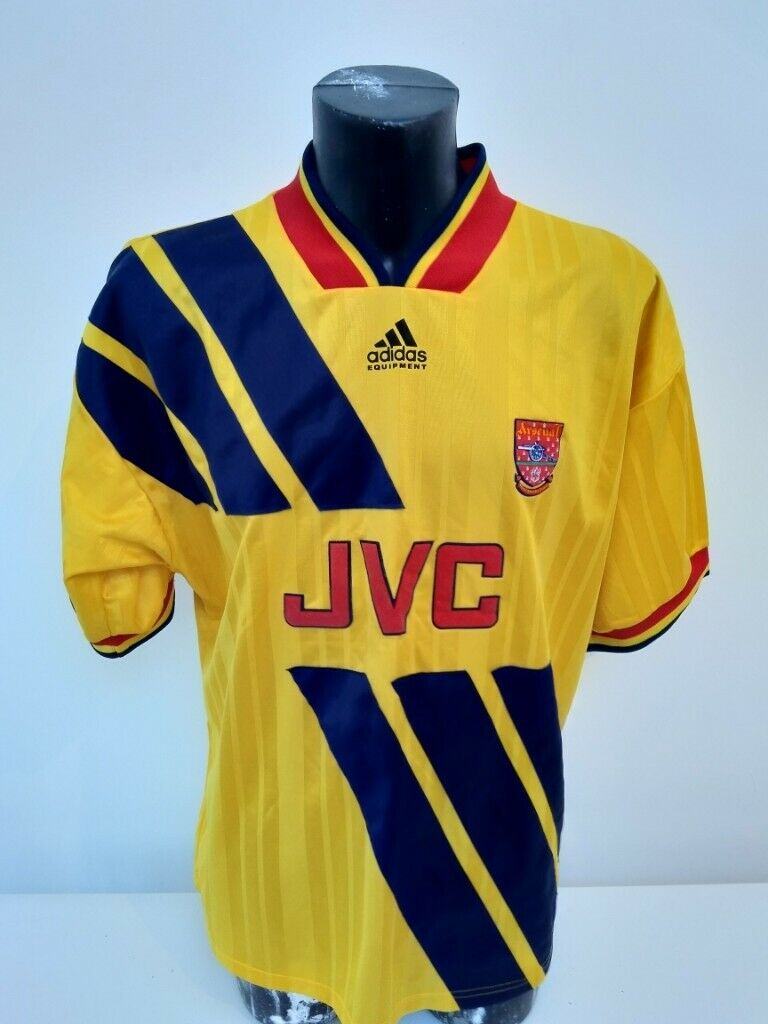 best authentic ac8fd 057f9 Arsenal Adidas away shirt signed by Paul Merson 1993/1994 season | in  Enfield, London | Gumtree