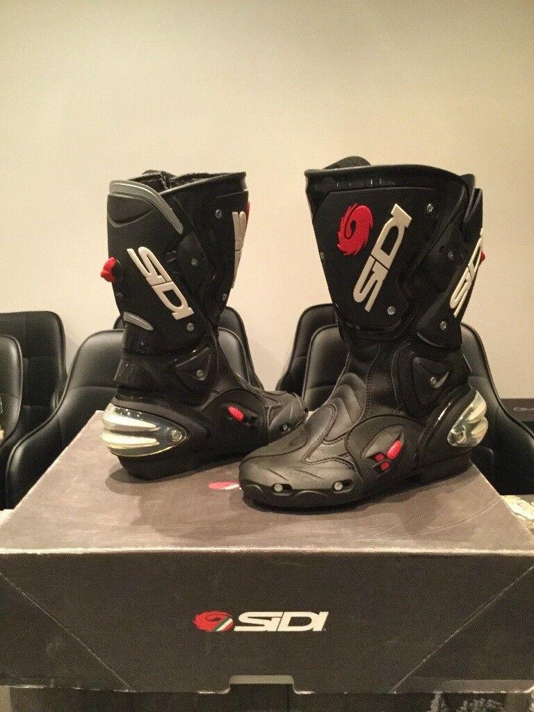 Sidi vertigo black boots