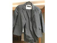 Autograph by Marks & Spencer Boys pin stripe 2 piece suit age 3-4 years