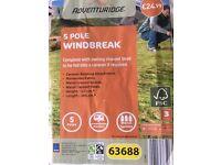 5 Pole Windbreaks 2 Off