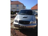 Immaculate KIA SEDONA SE+ 2006 ****price reduced by £500**** for quick sale