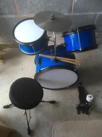 Child's drum kit