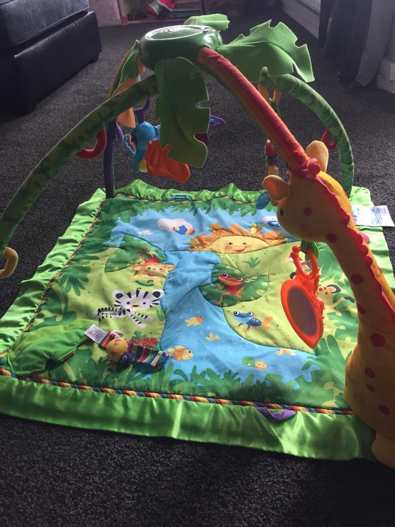 Rainforest play mat