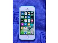 Iphone 5S white,16Gb,unlocked +protective case
