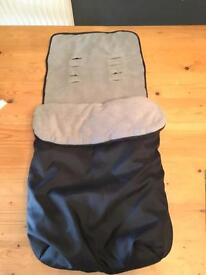 Cosy toes Buggy liner footmuff