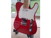 Telecaster copy guitar by Antoria Telstar string through body