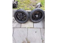Gilera runner sp50 wheels