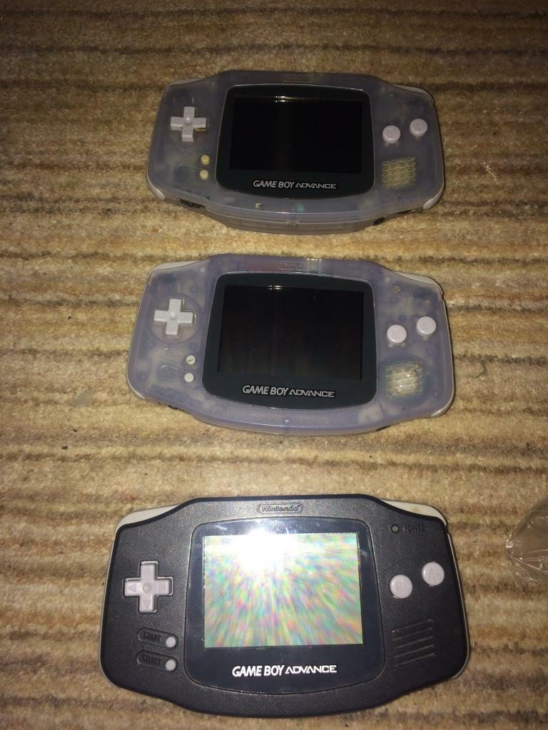 Nintendo Gameboy Advance consoles