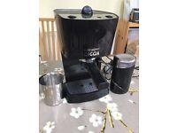 Gaggia Pure Espresso Machine and accessories