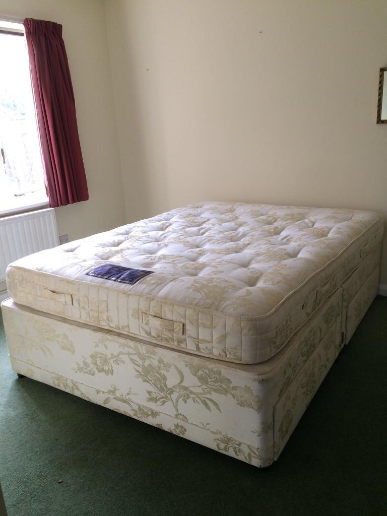 Double and single beds free collection only from Bourn