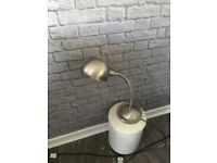 Ikea chrome lamp. Good condition