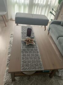 HEMNES solid wooden coffee table