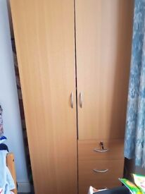 House clearance - two-door wardrobe, washing machine, table and chairs and sofa bed