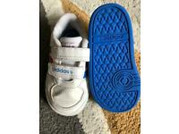 Adidas baby trainers size 3