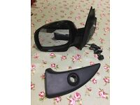 Seat Arosa passenger and drivers side black wing mirrors