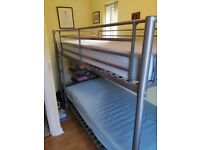 Bunk Bed & two mattresses