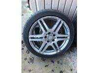 """mercedes amg alloy wheels 18"""""""