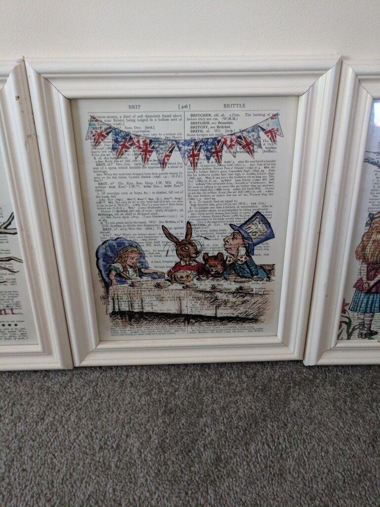 Alice In Wonderland Frames In Redcar North Yorkshire Gumtree