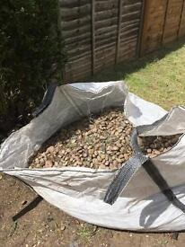 Mixed bag of stones and slate