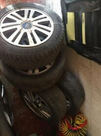 Ford c max alloy wheels